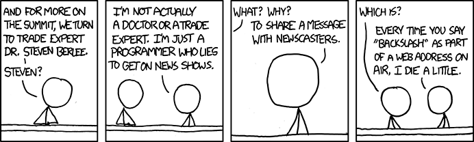 xkcd comic strip