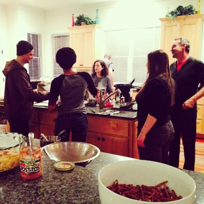 tdiv making dinner