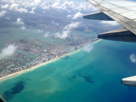 Miami Beach from the air