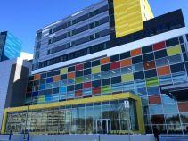 hospital entrance