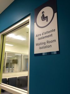 ER waiting room isolation