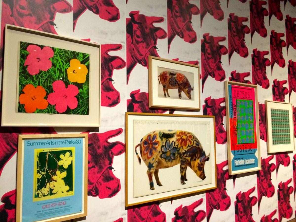 Andy Warhol wall