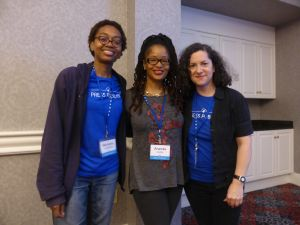 With Michelle Langston and Ananda Leeke