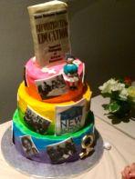 Greta retirement cake