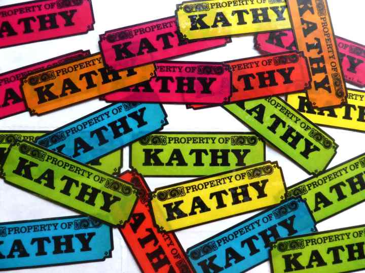 Kathy Stickers