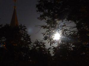 moon & church