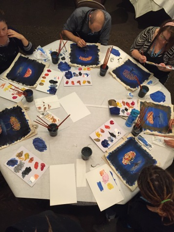 Table of painters