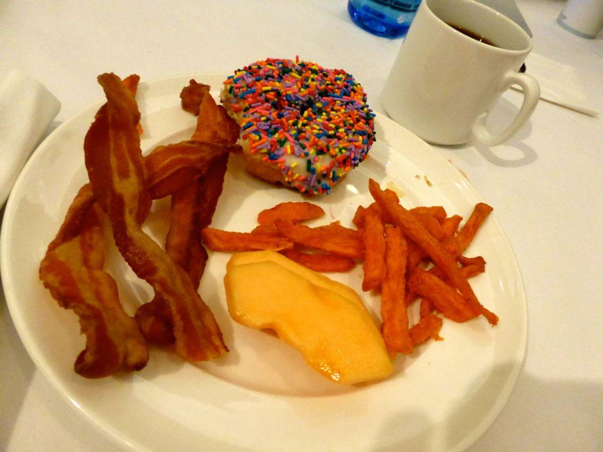 breakfast (not mine)