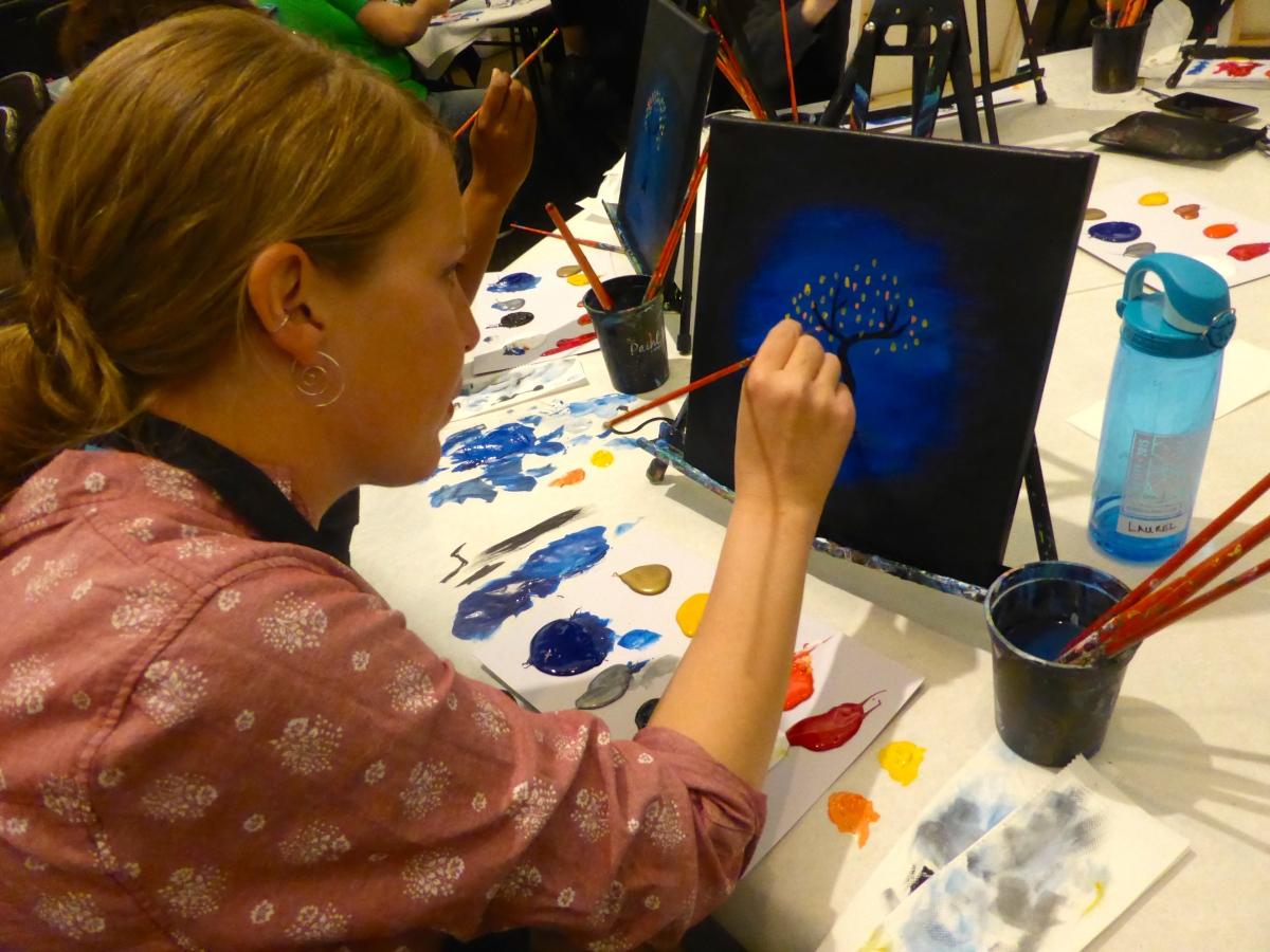 Laurel painting
