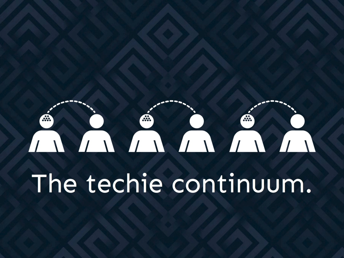 The techie continuum