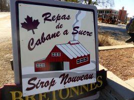 repas cabane à sucre - sirop nouveau