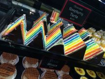 pride slices on Granville Island