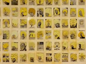 yellow hair exhibit at VAG
