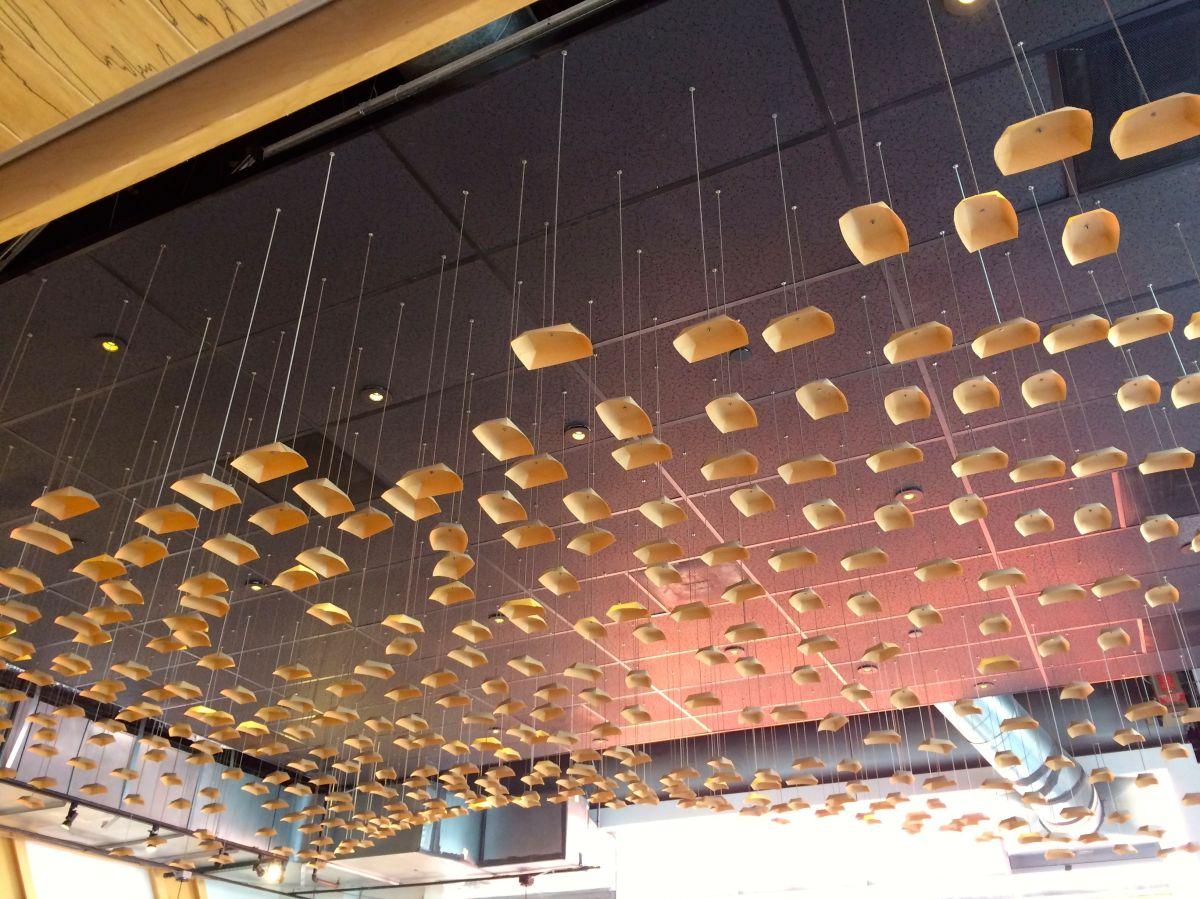 Komodo ceiling