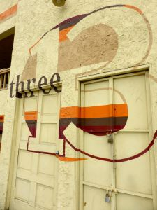three 13 mural