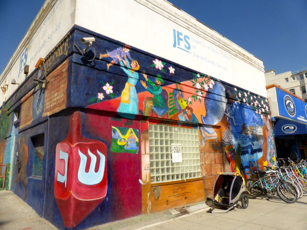 Jewish Family Services mural