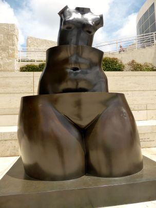 Getty Museum sculpture