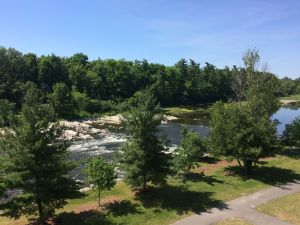 View from the River Building at Carleton University