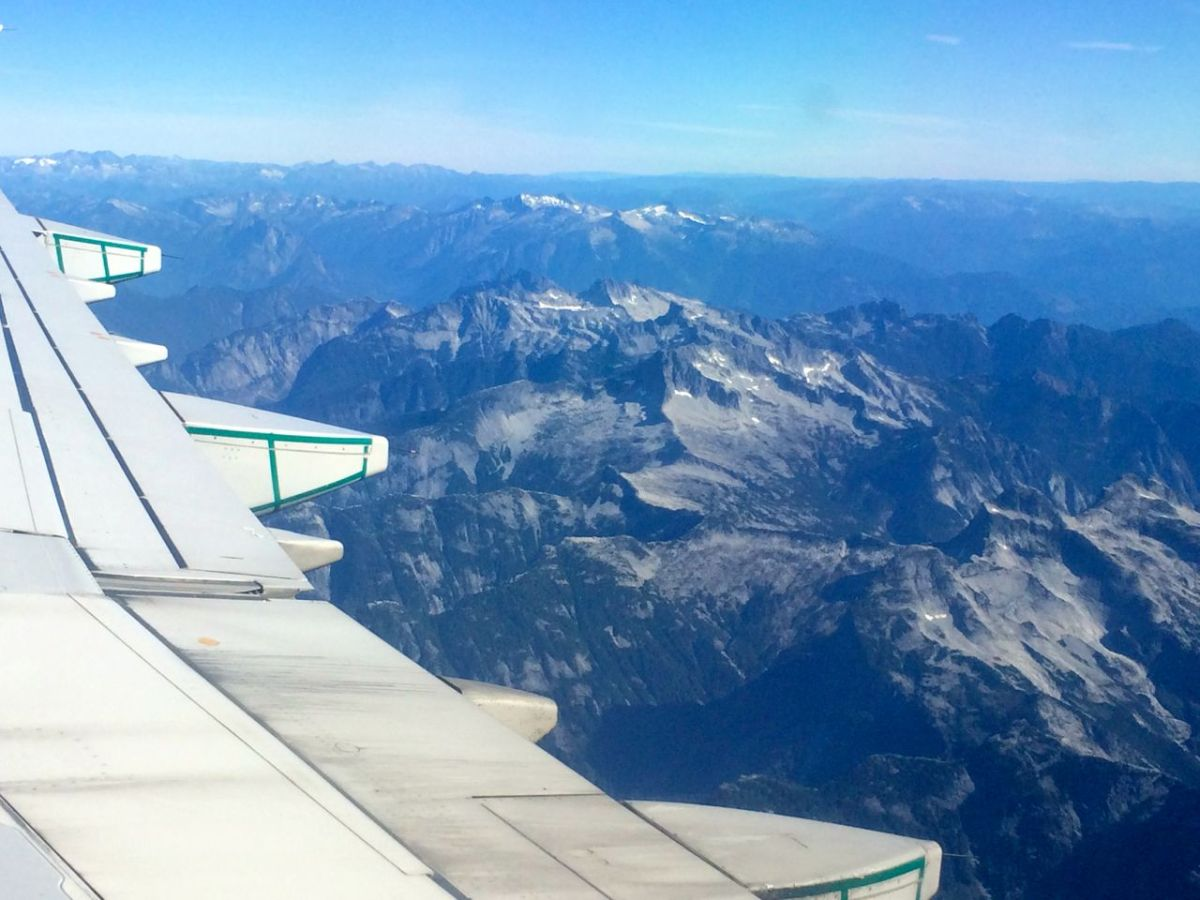 Rockies from the plane