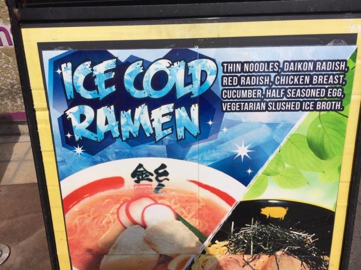 Ice Cold Ramen