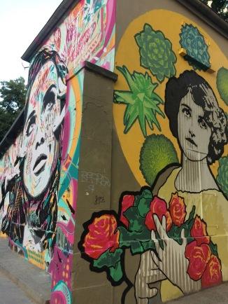 Paris street art - Canal de la Villette
