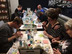 Theam painting ceramics