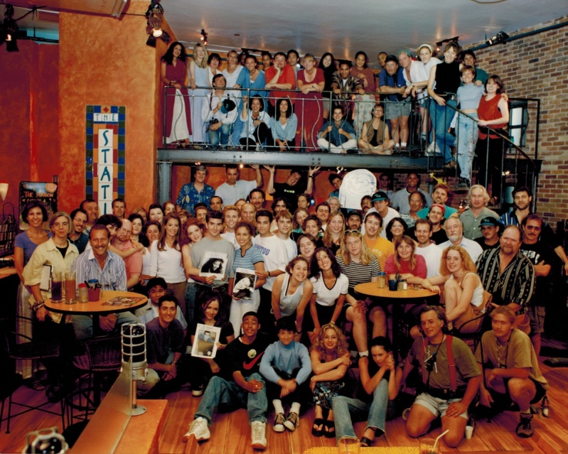 Cast & crew photo - can you spot me?