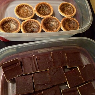 Butter tarts and Nanaimo bars