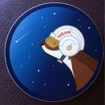 theam sticker