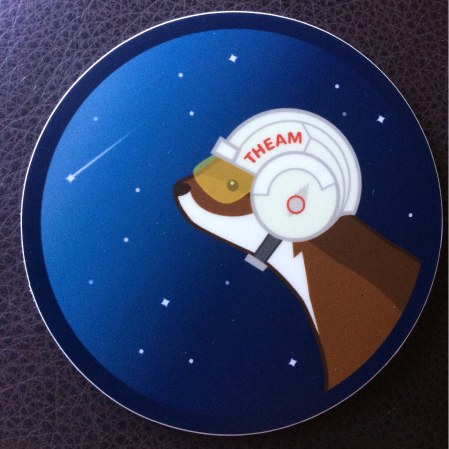theam sticker