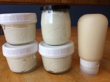 body butter in jars