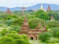 Bagan - Stupas