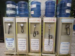 Communal water coolers