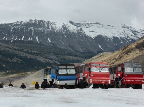 giant glacier vehicles