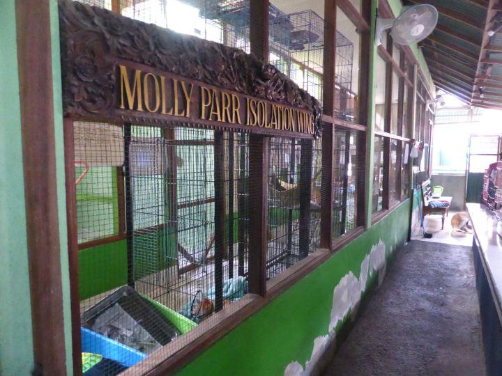 Molly Parr Isolation ward